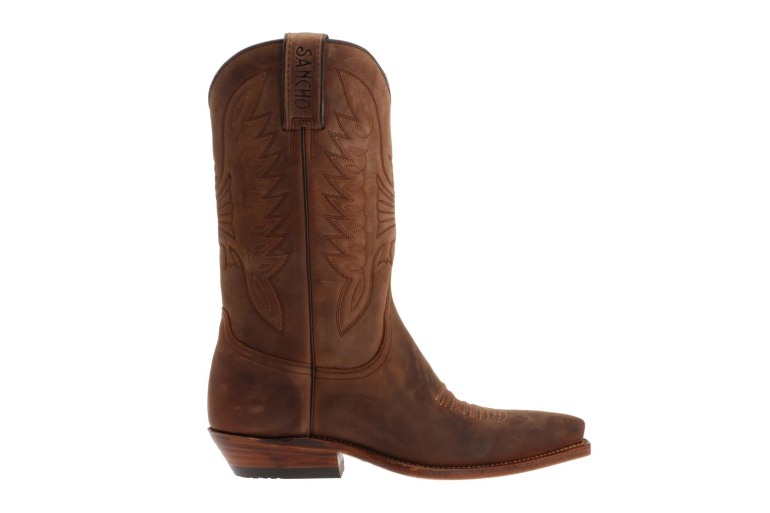 Sancho Boots Elvis Femme Boots Amp Wellies In Brown At
