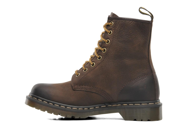 dr martens 1460 w marron bottines et boots chez sarenza 186921. Black Bedroom Furniture Sets. Home Design Ideas