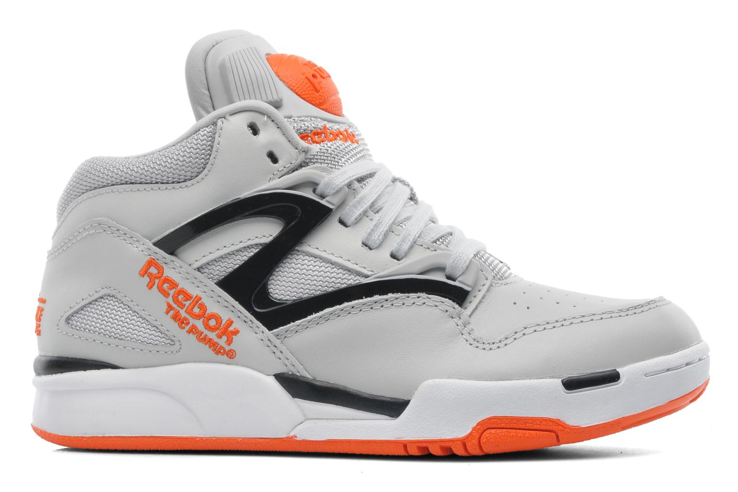 reebok versa pump omni lite trainers in grey at 216579. Black Bedroom Furniture Sets. Home Design Ideas
