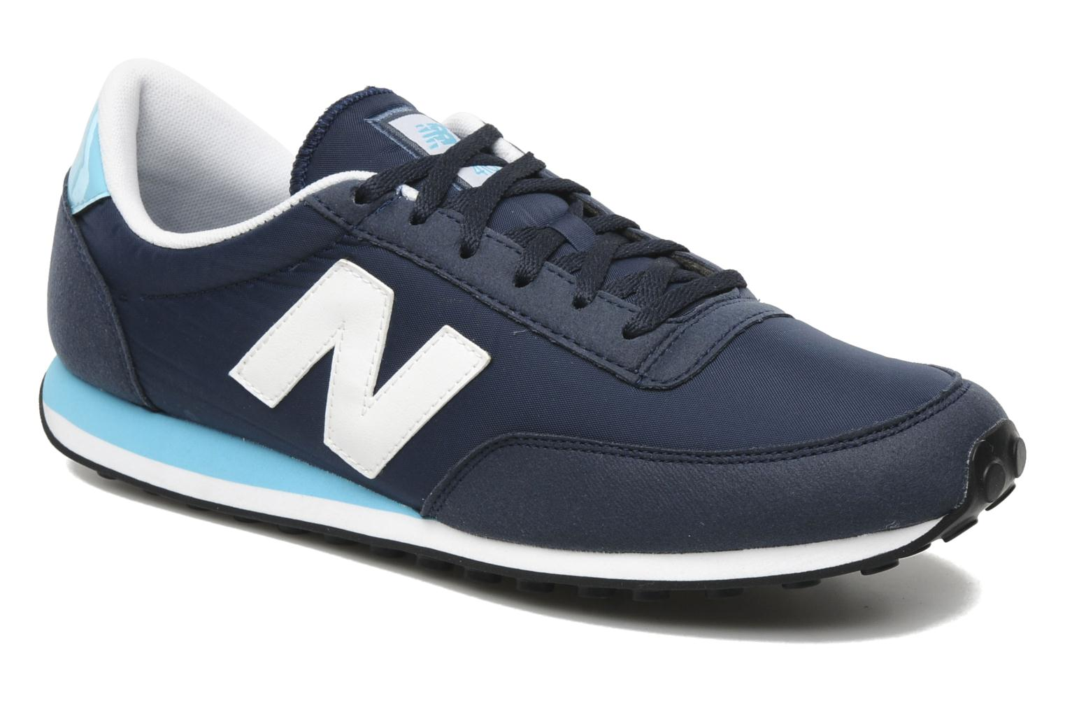 new balance u410 trainers in blue at 136179. Black Bedroom Furniture Sets. Home Design Ideas