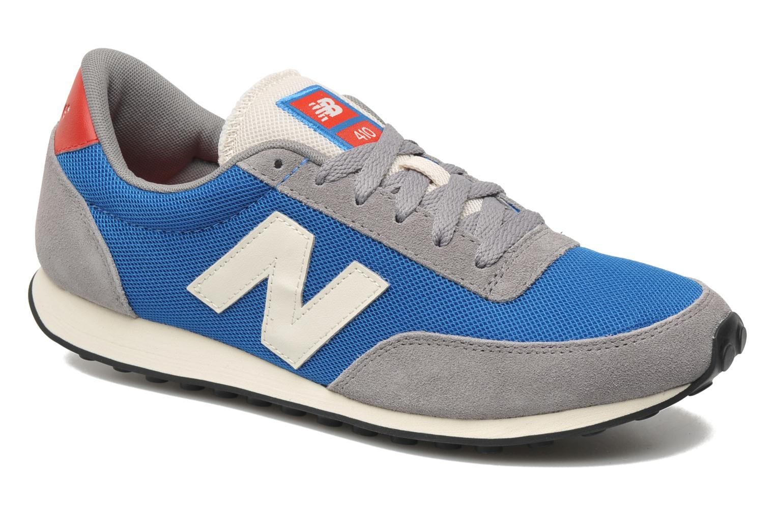new balance u410 trainers in blue at 177031. Black Bedroom Furniture Sets. Home Design Ideas