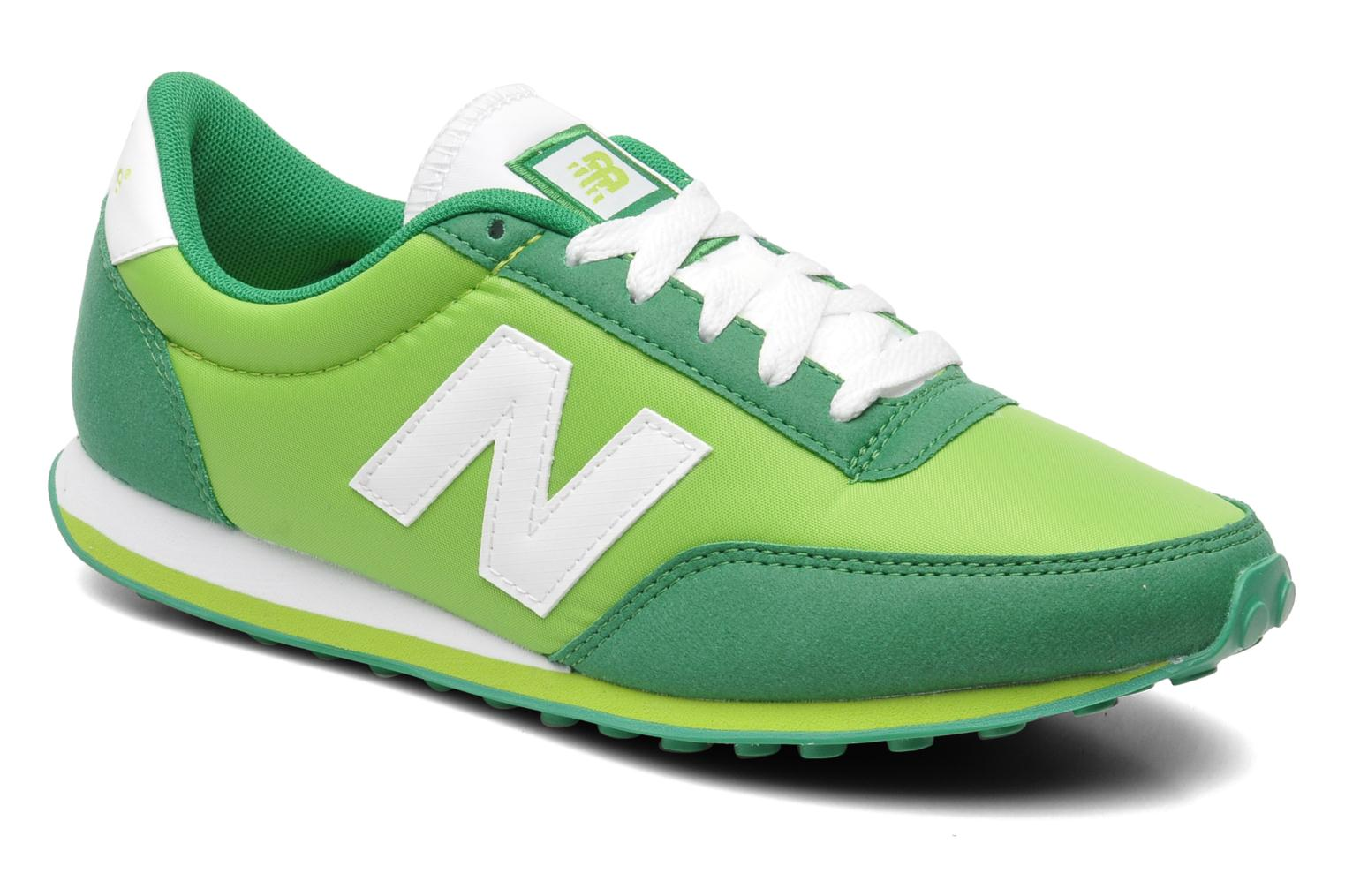 new balance u410 trainers in green at 199396. Black Bedroom Furniture Sets. Home Design Ideas