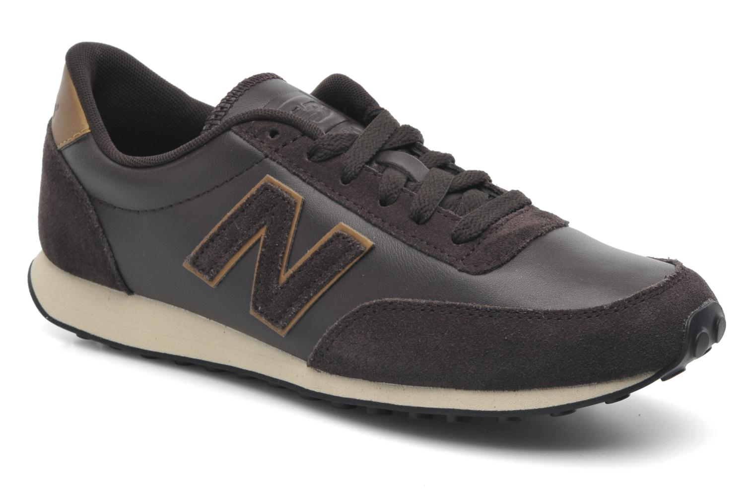 new balance u410 trainers in brown at 218683. Black Bedroom Furniture Sets. Home Design Ideas