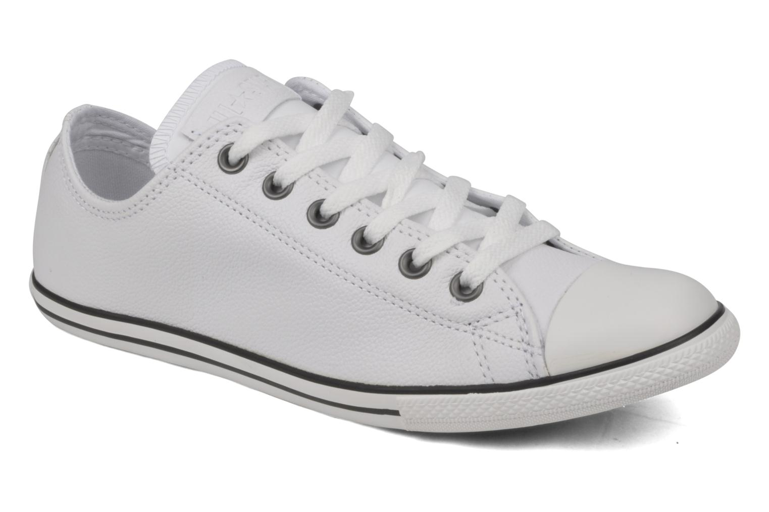 6b84e3c6437d real at the iconic converse chuck taylor womens all star dainty leather mid  d6cf7 a5bda  low price converse all star slim ox 7c28d e5e64