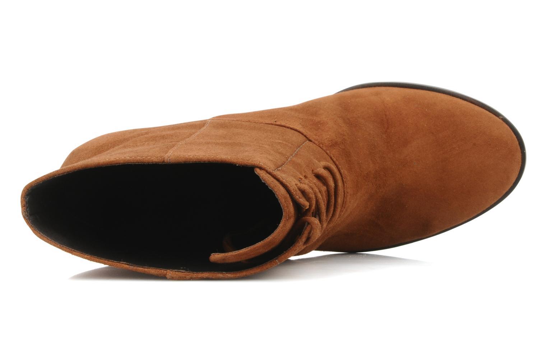 Tila march booty corolle suede marron bottines et boots chez sarenza 72320 - Vente privee corolle ...