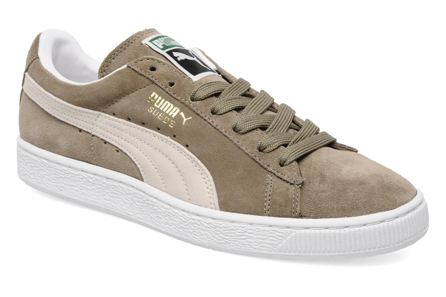 puma suede classic trainers in beige at. Black Bedroom Furniture Sets. Home Design Ideas