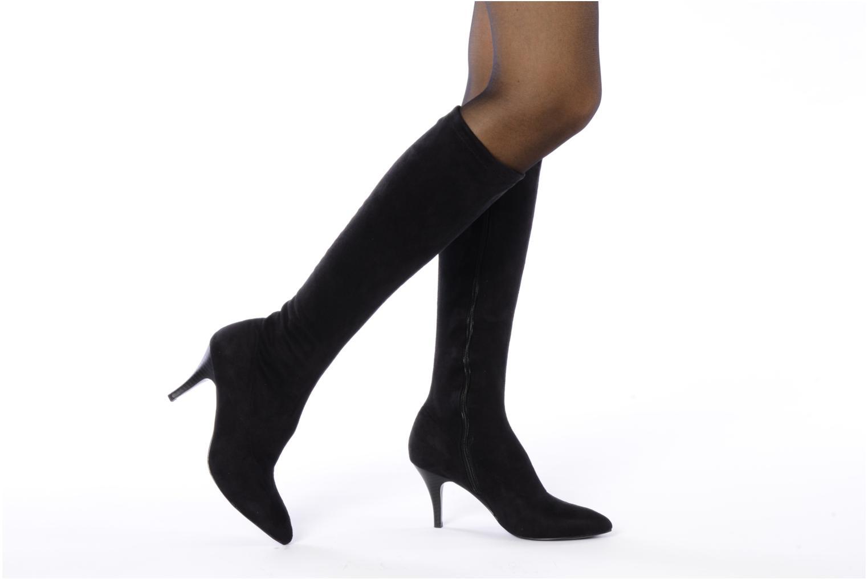 georgia rose ghefa stretch noir bottes chez sarenza 76341. Black Bedroom Furniture Sets. Home Design Ideas