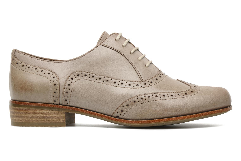 clarks hamble oak lace up shoes in beige at 128184. Black Bedroom Furniture Sets. Home Design Ideas