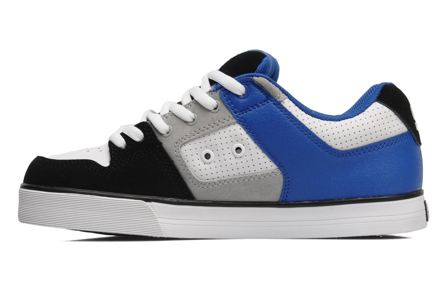 dc shoes pure slim sport shoes in white at. Black Bedroom Furniture Sets. Home Design Ideas