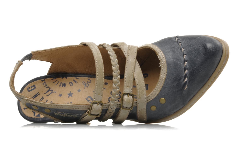 mustang shoes myeline high heels in blue at. Black Bedroom Furniture Sets. Home Design Ideas