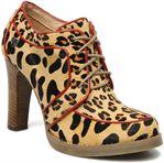 Lollipops Nabab leopard leather derby