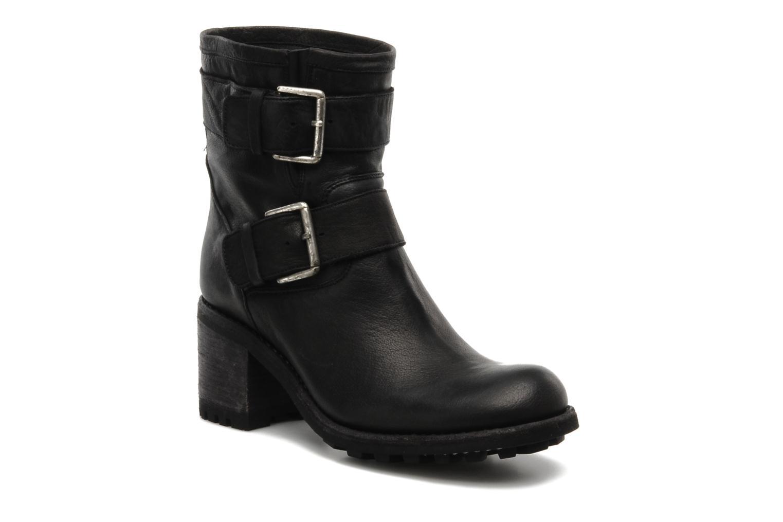 free lance biker 7 mini strap noir bottines et boots chez sarenza 106093. Black Bedroom Furniture Sets. Home Design Ideas
