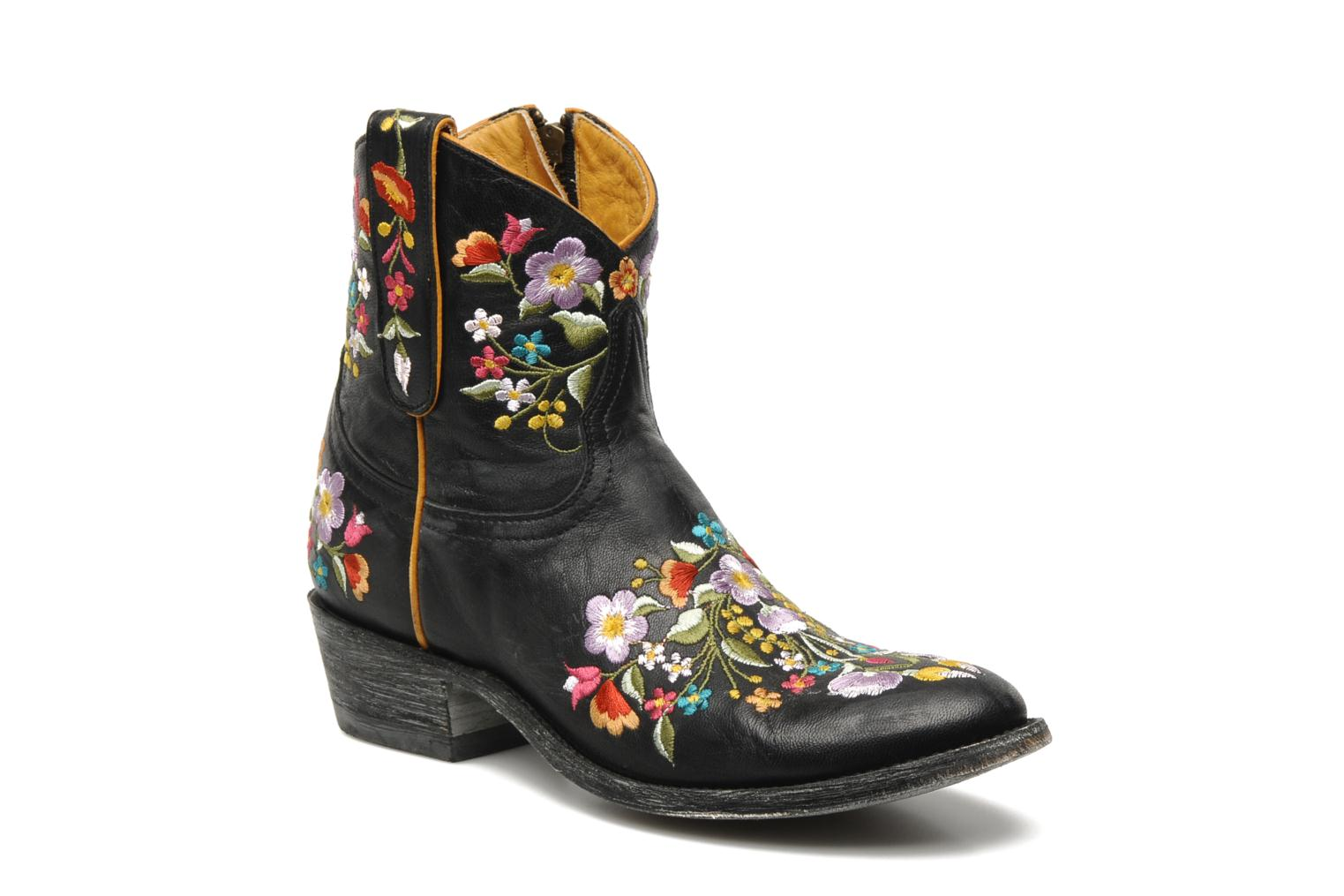 Mexicana Tijuana Ankle Boots In Black At Sarenza Co Uk