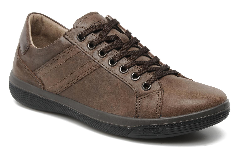 tbs easy walk marman marron chaussures lacets chez sarenza 110074. Black Bedroom Furniture Sets. Home Design Ideas