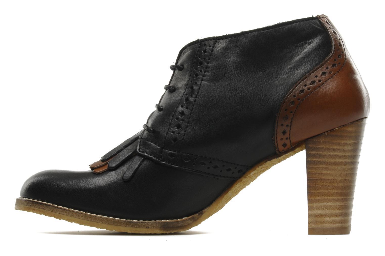 le temps des cerises balty lace up shoes in black at 112352. Black Bedroom Furniture Sets. Home Design Ideas