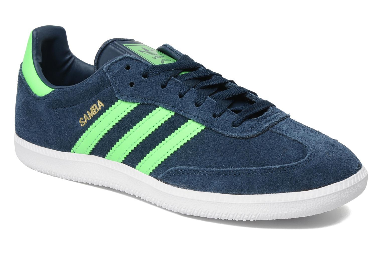 adidas originals samba blau sneaker bei. Black Bedroom Furniture Sets. Home Design Ideas