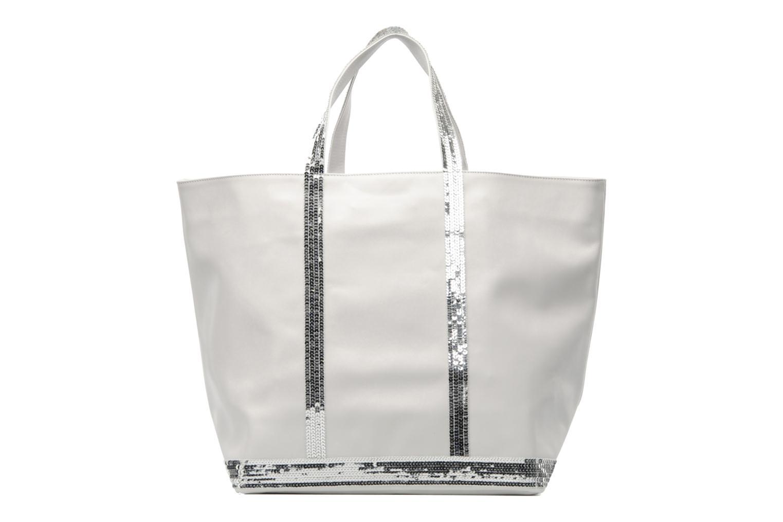 vanessa bruno cabas cuir paillettes l handbags in white at 168090. Black Bedroom Furniture Sets. Home Design Ideas