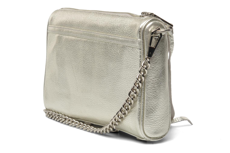 rebecca minkoff mini mac silber handtaschen bei. Black Bedroom Furniture Sets. Home Design Ideas