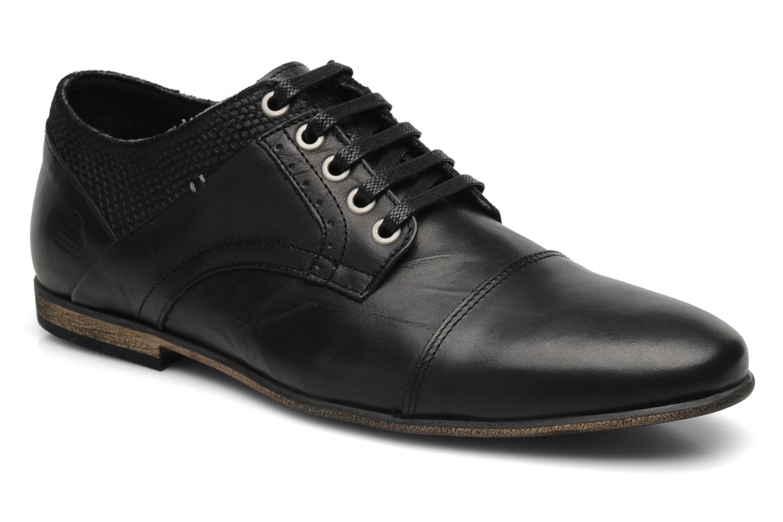 bullboxer patriq lace up shoes in black at. Black Bedroom Furniture Sets. Home Design Ideas
