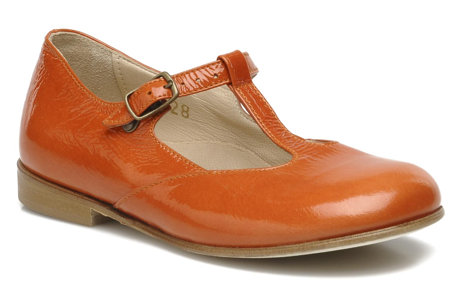 P 232 P 232 Annabelle Ballet Pumps In Orange At Sarenza Co Uk