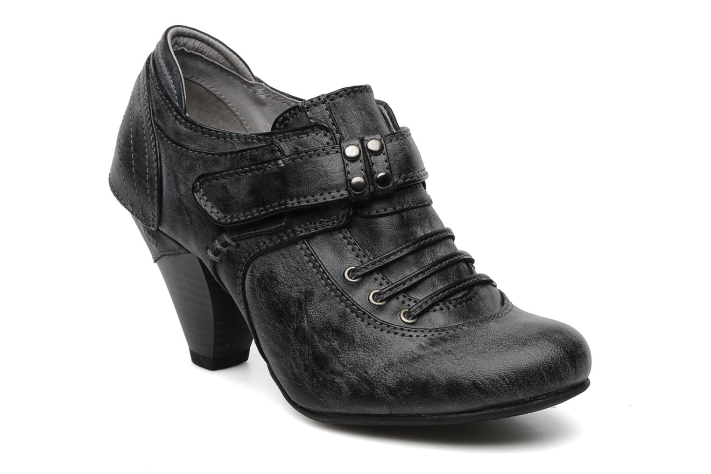 mustang shoes muelva high heels in grey at. Black Bedroom Furniture Sets. Home Design Ideas