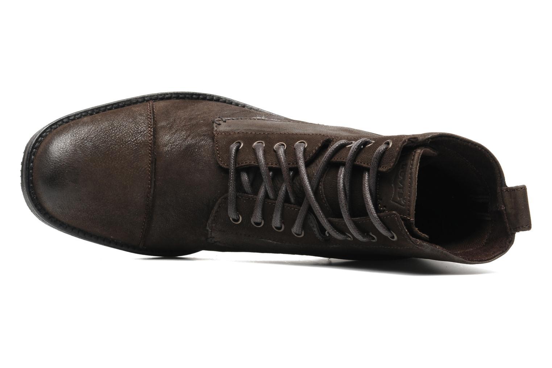 levi 39 s maine lace up marron chaussures lacets chez sarenza 171033. Black Bedroom Furniture Sets. Home Design Ideas
