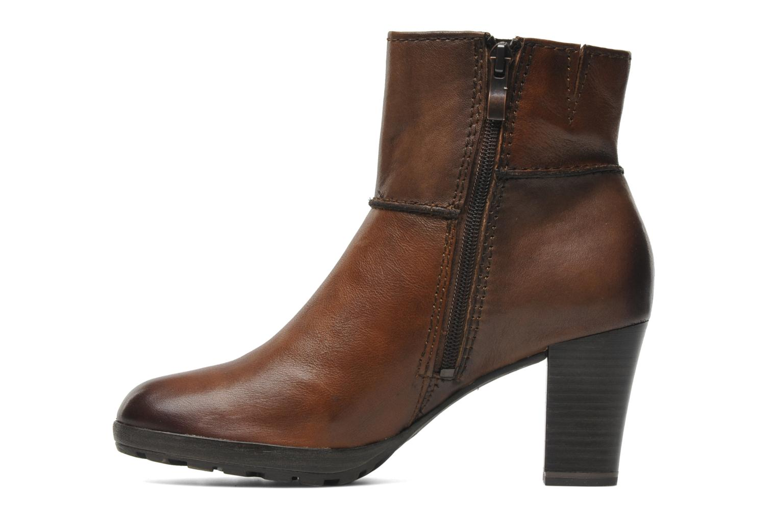 marco tozzi rubia ankle boots in brown at 141623. Black Bedroom Furniture Sets. Home Design Ideas