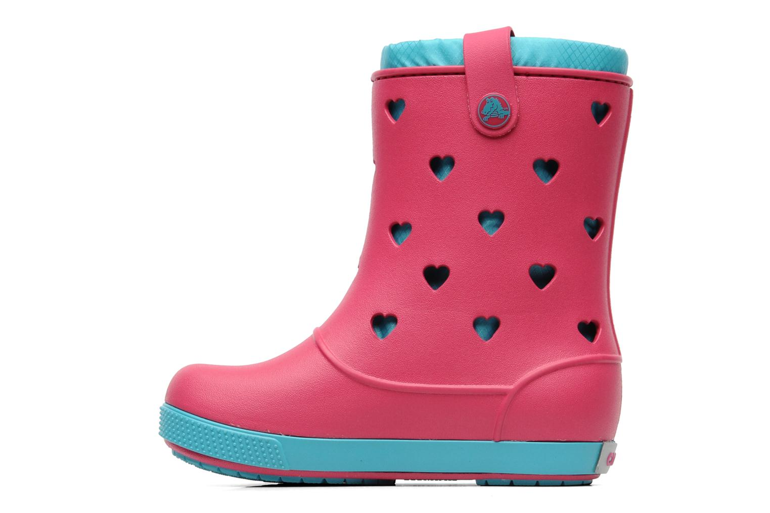 crocs crocband airy hearts boot ps rosa stiefel bei. Black Bedroom Furniture Sets. Home Design Ideas