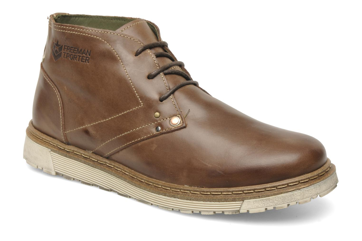 freeman t porter bridwell lace up shoes in brown at 143043. Black Bedroom Furniture Sets. Home Design Ideas