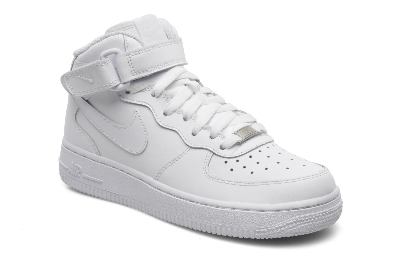 nike air force 1 mid gs blanc chaussures de sport chez sarenza 229684. Black Bedroom Furniture Sets. Home Design Ideas