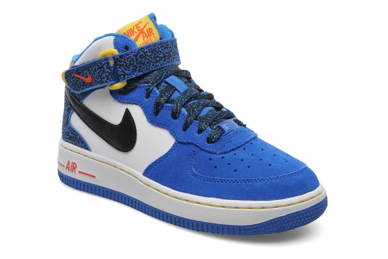 nike air force 1 mid gs bleu chaussures de sport chez sarenza 197844. Black Bedroom Furniture Sets. Home Design Ideas