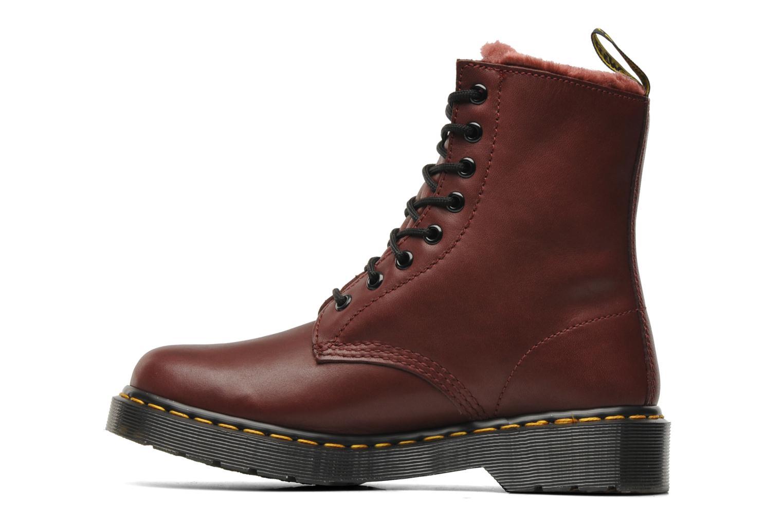 dr martens serena bordeaux bottines et boots chez sarenza 183948. Black Bedroom Furniture Sets. Home Design Ideas