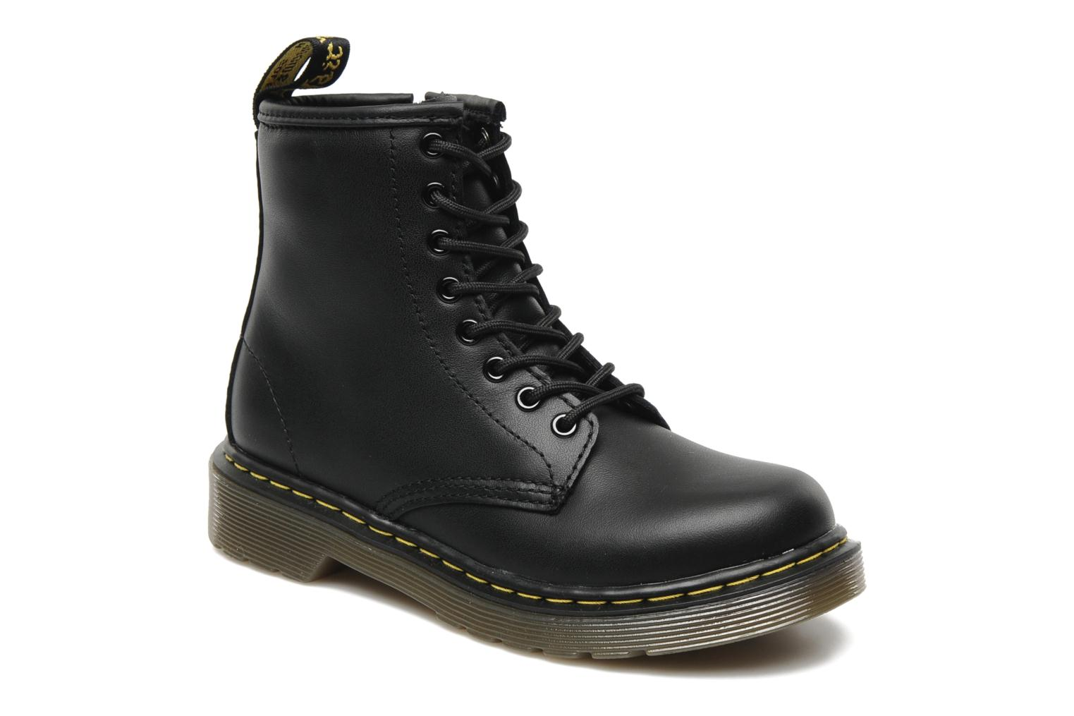 dr martens lace boot juniors ankle boots in black at
