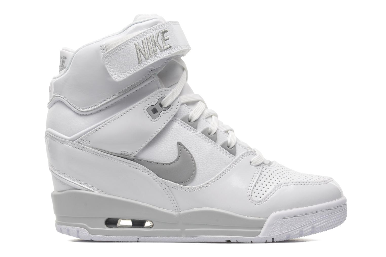 nike wmns nike air revolution sky hi trainers in white at. Black Bedroom Furniture Sets. Home Design Ideas
