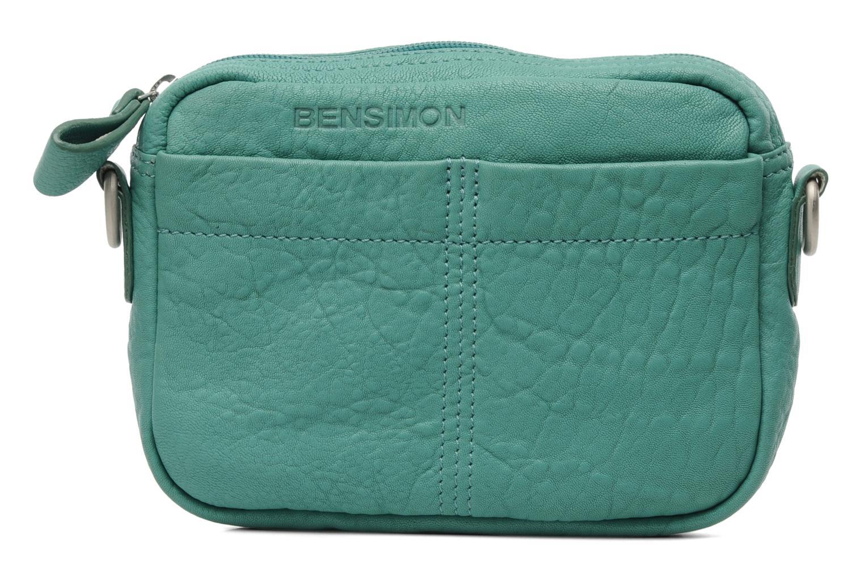 bensimon mini bag cuir vert sacs main chez sarenza. Black Bedroom Furniture Sets. Home Design Ideas