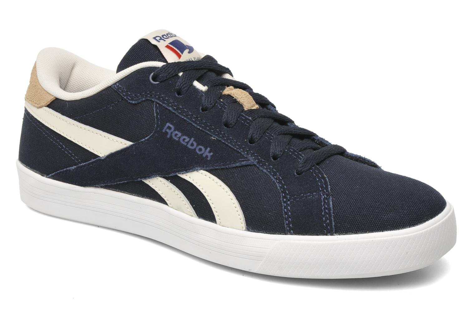 reebok reebok royal complete low m trainers in blue at 178482. Black Bedroom Furniture Sets. Home Design Ideas