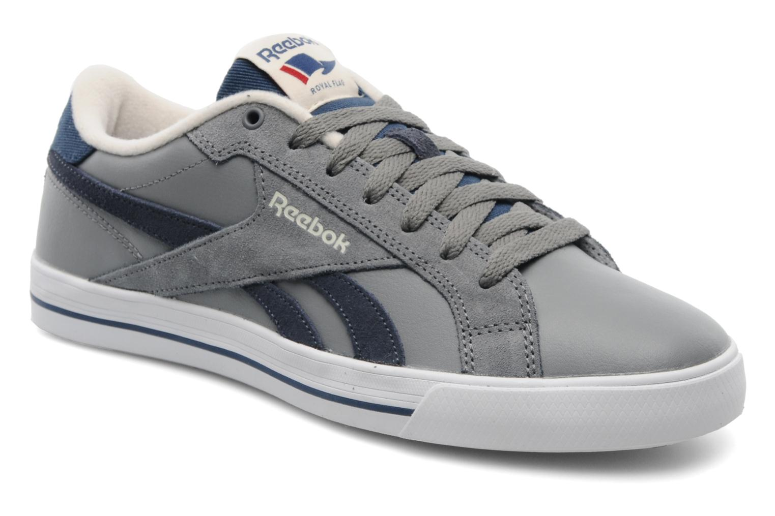 reebok reebok royal complete low m trainers in grey at 194248. Black Bedroom Furniture Sets. Home Design Ideas