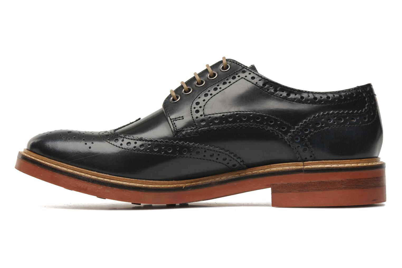 base london woburn bleu chaussures lacets chez sarenza 180384. Black Bedroom Furniture Sets. Home Design Ideas