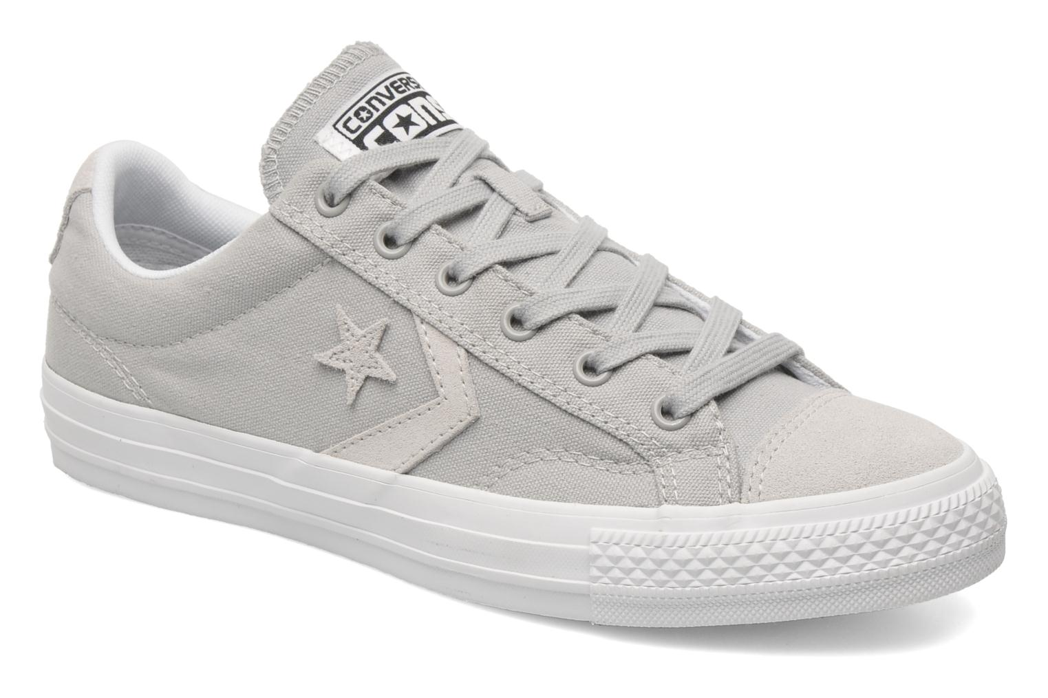 converse star player tonal ox m trainers in grey at 180604. Black Bedroom Furniture Sets. Home Design Ideas
