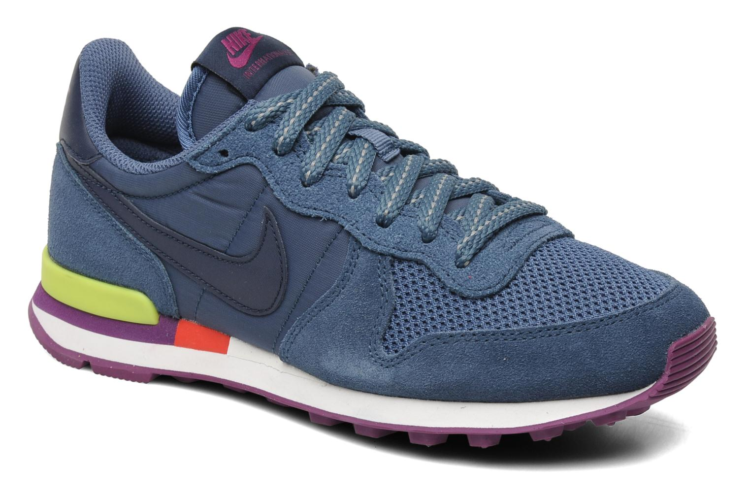 nike wmns nike internationalist blau sneaker bei. Black Bedroom Furniture Sets. Home Design Ideas