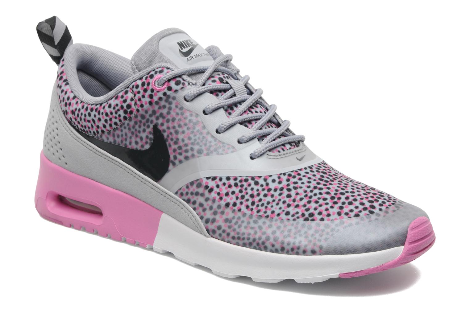 nike wmns nike air max thea print multicolor sneakers. Black Bedroom Furniture Sets. Home Design Ideas
