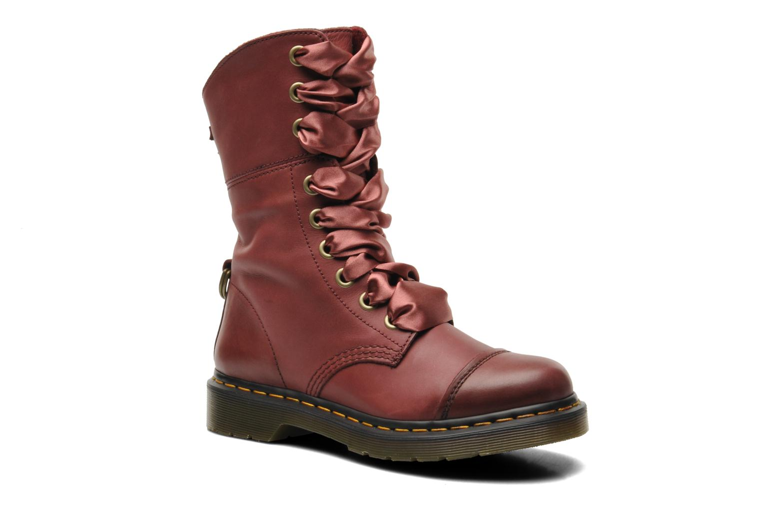 dr martens aimilita bordeaux bottines et boots chez sarenza 222219. Black Bedroom Furniture Sets. Home Design Ideas