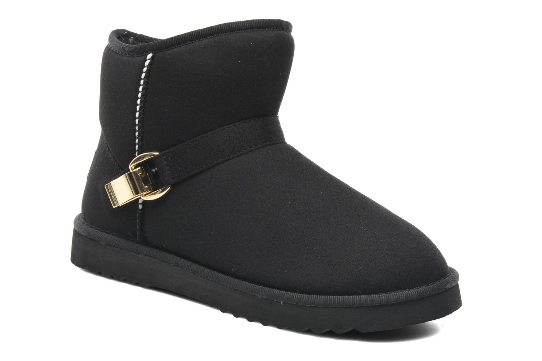 esprit uma buckle 061 ankle boots in black at 189998. Black Bedroom Furniture Sets. Home Design Ideas