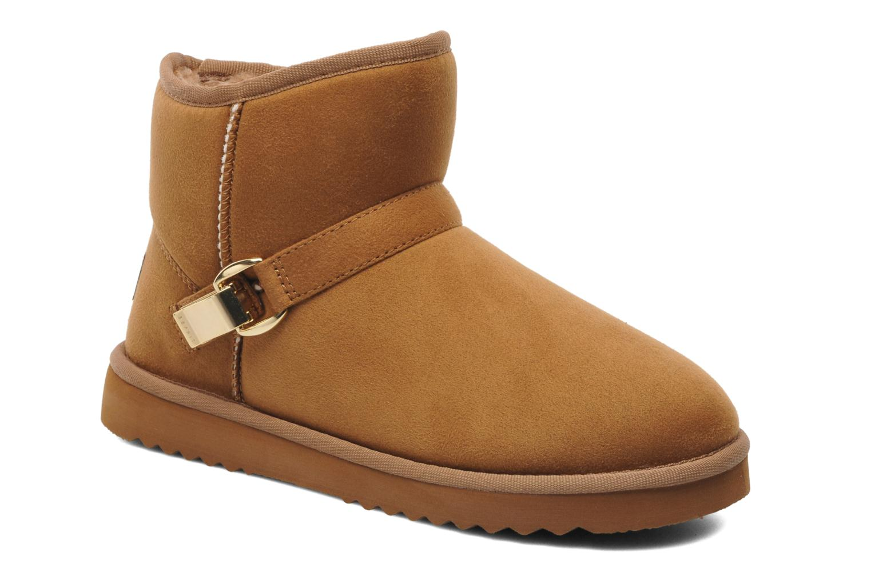 esprit uma buckle 061 marron bottines et boots chez sarenza 189999. Black Bedroom Furniture Sets. Home Design Ideas