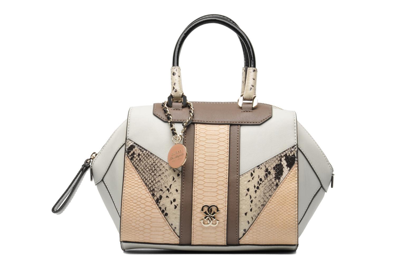 guess paxton box satchel beige handtassen bij. Black Bedroom Furniture Sets. Home Design Ideas