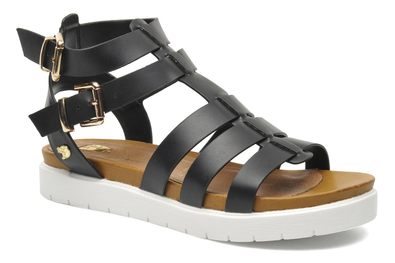 tom tailor bria zwart sandalen bij 207948. Black Bedroom Furniture Sets. Home Design Ideas