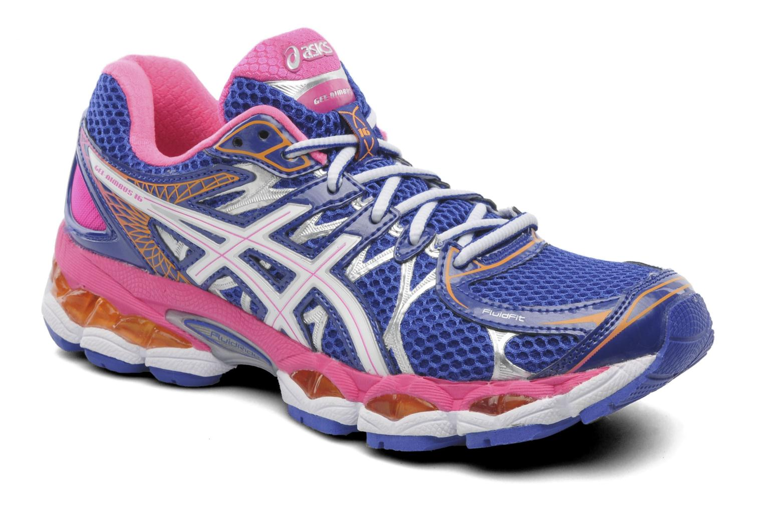 asics gel nimbus 16 w sport shoes in multicolor at 212077. Black Bedroom Furniture Sets. Home Design Ideas
