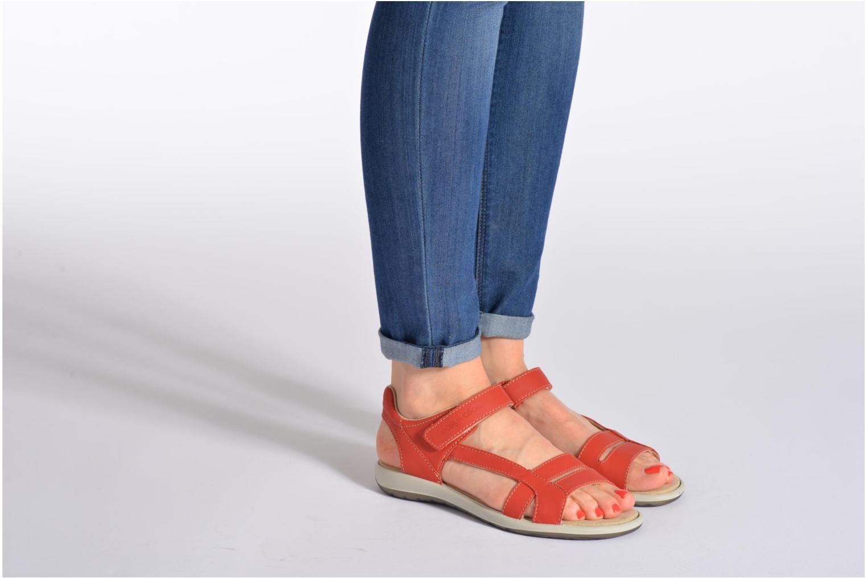 tbs easy walk hamacs rouge sandales et nu pieds chez sarenza 214621. Black Bedroom Furniture Sets. Home Design Ideas