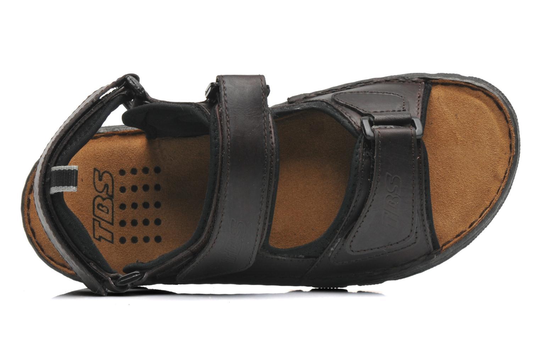 tbs easy walk requin marron sandales et nu pieds chez sarenza 214628. Black Bedroom Furniture Sets. Home Design Ideas