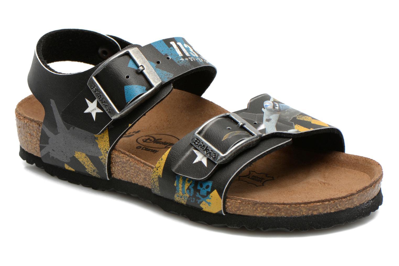 Birkenstock new york noir sandales et nu pieds chez for Birkenstock new york